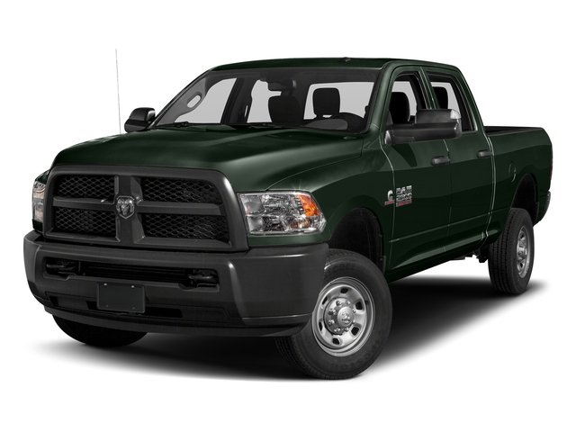 Black Forest Green Pearlcoat 2017 Ram Truck 2500 Pictures 2500 Crew Power Wagon Tradesman 4WD photos front view