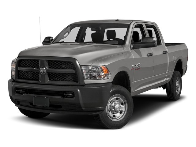 Bright Silver Metallic Clearcoat 2017 Ram Truck 2500 Pictures 2500 Crew Power Wagon Tradesman 4WD photos front view