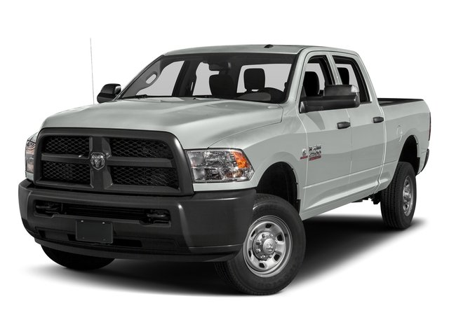 Bright White Clearcoat 2017 Ram Truck 2500 Pictures 2500 Crew Power Wagon Tradesman 4WD photos front view