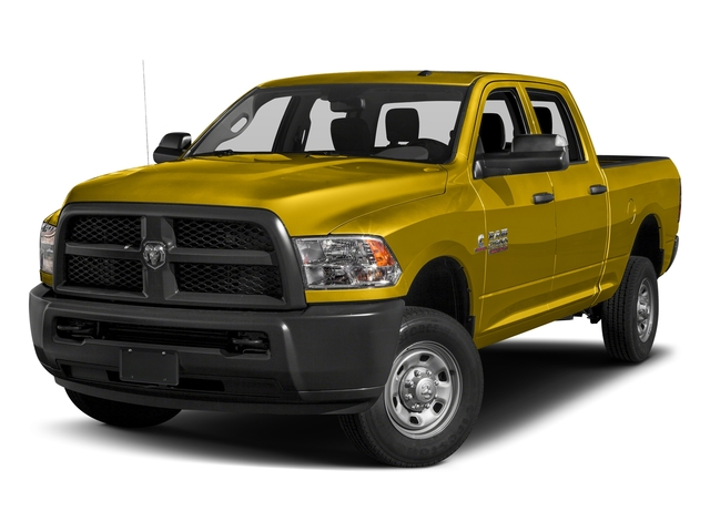 Detonator Yellow Clearcoat 2017 Ram Truck 2500 Pictures 2500 Tradesman 4x2 Crew Cab 8' Box photos front view