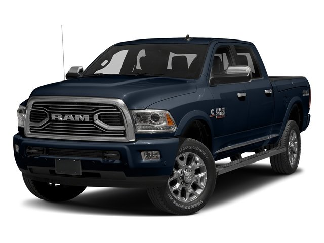True Blue Pearlcoat 2017 Ram Truck 2500 Pictures 2500 Longhorn 4x4 Crew Cab 8' Box photos front view