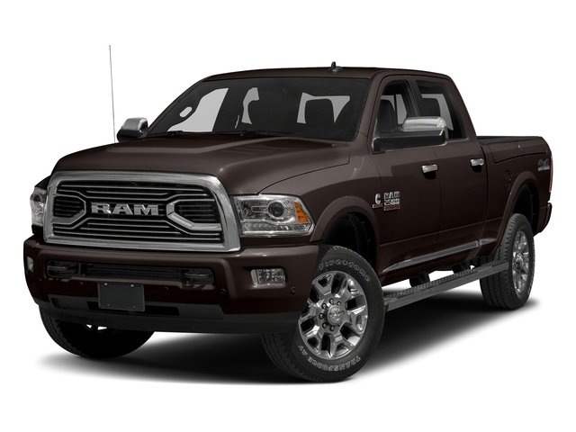 Luxury Brown Pearlcoat 2017 Ram Truck 2500 Pictures 2500 Laramie Longhorn 4x2 Crew Cab 8' Box photos front view