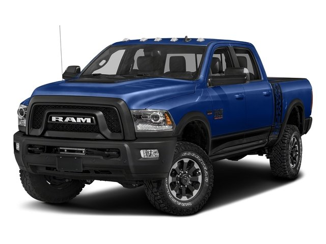 Blue Streak Pearlcoat 2017 Ram Truck 2500 Pictures 2500 Power Wagon 4x4 Crew Cab 6'4 Box photos front view