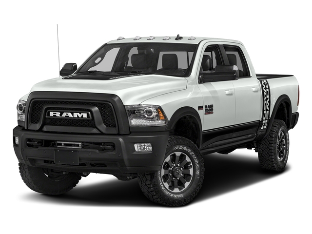 Bright White Clearcoat 2017 Ram Truck 2500 Pictures 2500 Power Wagon 4x4 Crew Cab 6'4 Box photos front view
