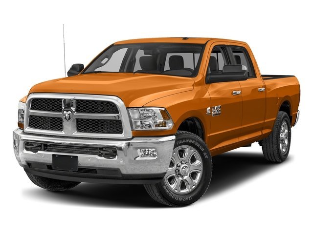 Omaha Orange 2017 Ram Truck 2500 Pictures 2500 SLT 4x2 Crew Cab 8' Box photos front view