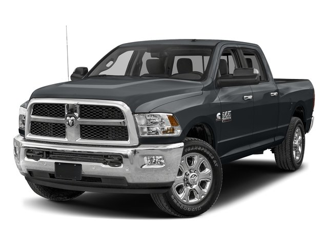 Maximum Steel Metallic Clearcoat 2017 Ram Truck 2500 Pictures 2500 SLT 4x2 Crew Cab 8' Box photos front view