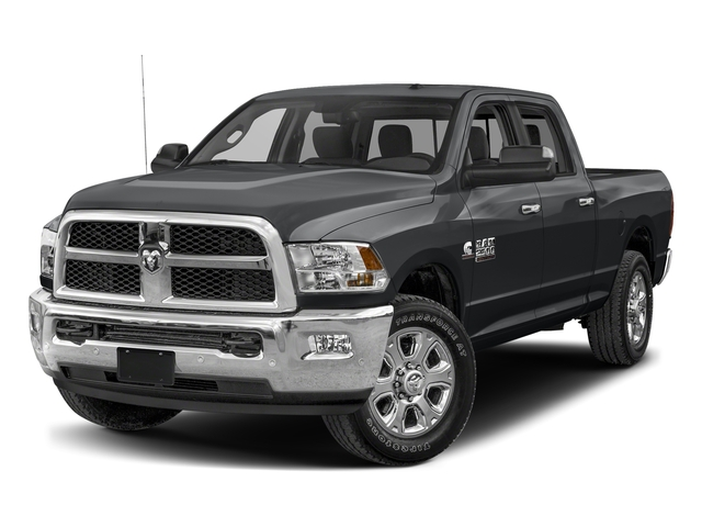 Granite Crystal Metallic Clearcoat 2017 Ram Truck 2500 Pictures 2500 SLT 4x2 Crew Cab 8' Box photos front view