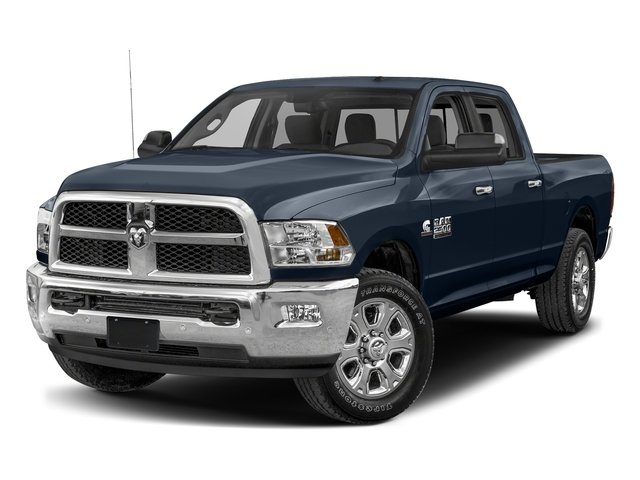 True Blue Pearlcoat 2017 Ram Truck 2500 Pictures 2500 SLT 4x2 Crew Cab 8' Box photos front view