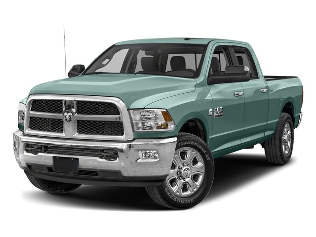 Light Green 2017 Ram Truck 2500 Pictures 2500 Crew Cab SLT 2WD photos front view