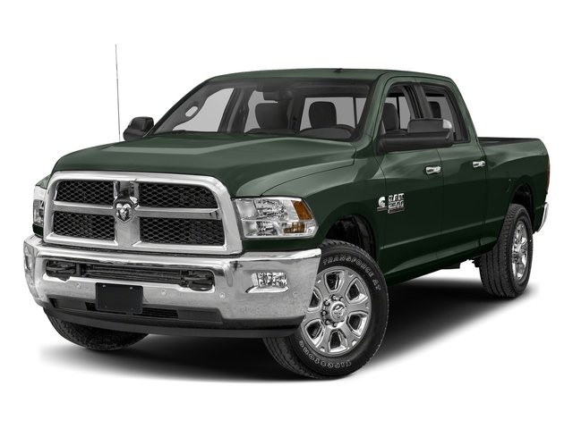 Black Forest Green Pearlcoat 2017 Ram Truck 2500 Pictures 2500 SLT 4x2 Crew Cab 8' Box photos front view