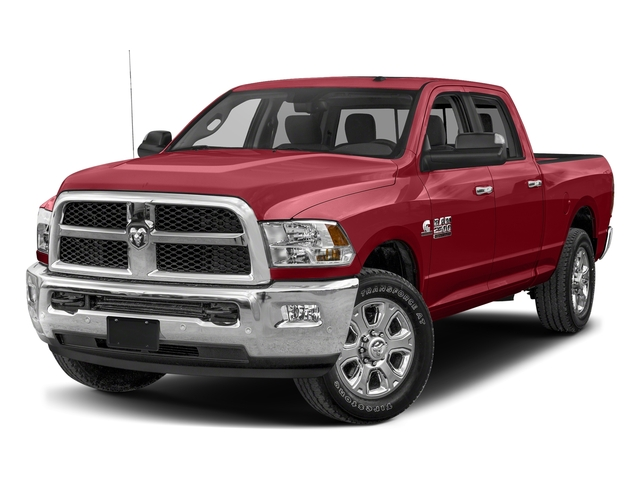 Flame Red Clearcoat 2017 Ram Truck 2500 Pictures 2500 SLT 4x2 Crew Cab 8' Box photos front view