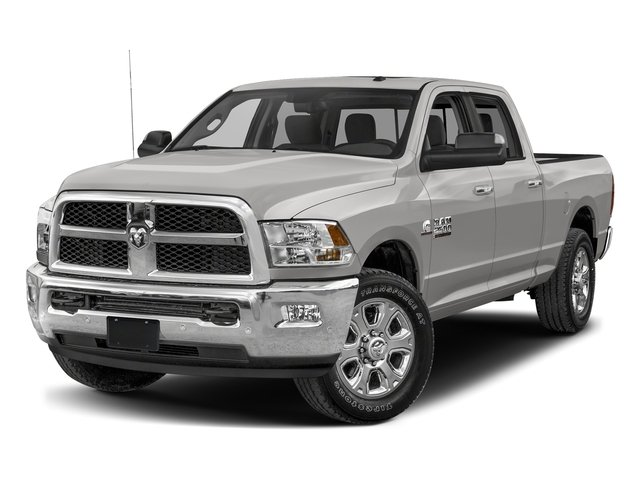 Bright Silver Metallic Clearcoat 2017 Ram Truck 2500 Pictures 2500 SLT 4x2 Crew Cab 8' Box photos front view