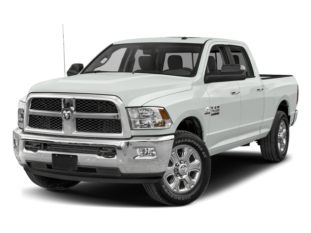 Bright White Clearcoat 2017 Ram Truck 2500 Pictures 2500 SLT 4x2 Crew Cab 8' Box photos front view