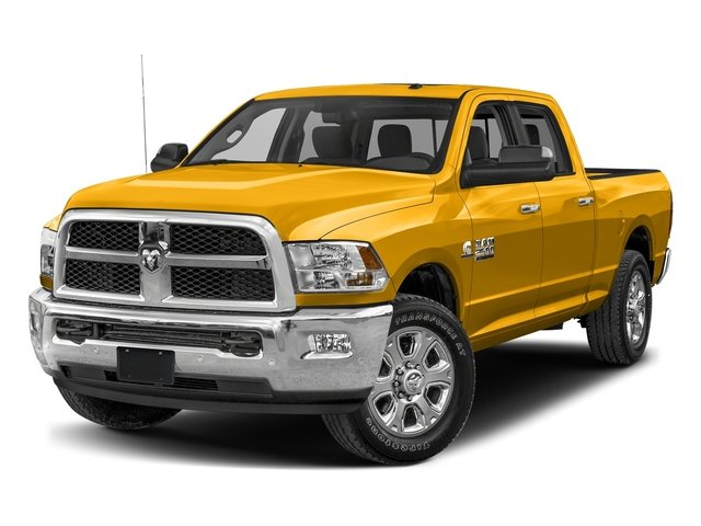 Detonator Yellow Clearcoat 2017 Ram Truck 2500 Pictures 2500 Crew Cab SLT 2WD photos front view