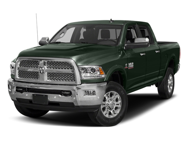 Black Forest Green Pearlcoat 2017 Ram Truck 2500 Pictures 2500 Laramie 4x4 Crew Cab 8' Box photos front view
