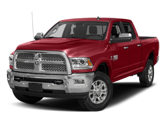 Flame Red Clearcoat 2017 Ram Truck 2500 Pictures 2500 Laramie 4x4 Crew Cab 8' Box photos front view