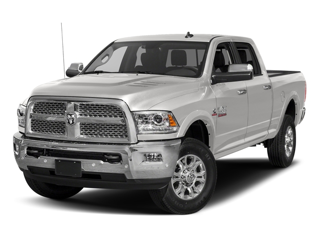 Bright Silver Metallic Clearcoat 2017 Ram Truck 2500 Pictures 2500 Laramie 4x2 Crew Cab 8' Box photos front view