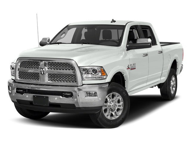 Bright White Clearcoat 2017 Ram Truck 2500 Pictures 2500 Laramie 4x4 Crew Cab 8' Box photos front view