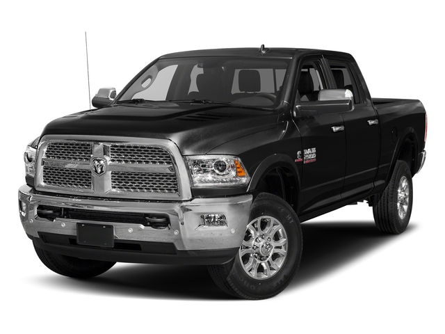 Brilliant Black Crystal Pearlcoat 2017 Ram Truck 2500 Pictures 2500 Laramie 4x4 Crew Cab 8' Box photos front view