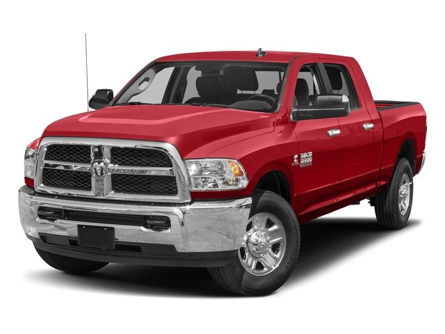 Bright Red 2017 Ram Truck 2500 Pictures 2500 SLT 4x2 Mega Cab 6'4 Box photos front view