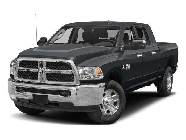 Maximum Steel Metallic Clearcoat 2017 Ram Truck 2500 Pictures 2500 Mega Cab SLT 4WD photos front view