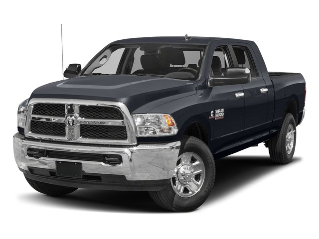 Midnight Blue Pearlcoat 2017 Ram Truck 2500 Pictures 2500 SLT 4x2 Mega Cab 6'4 Box photos front view