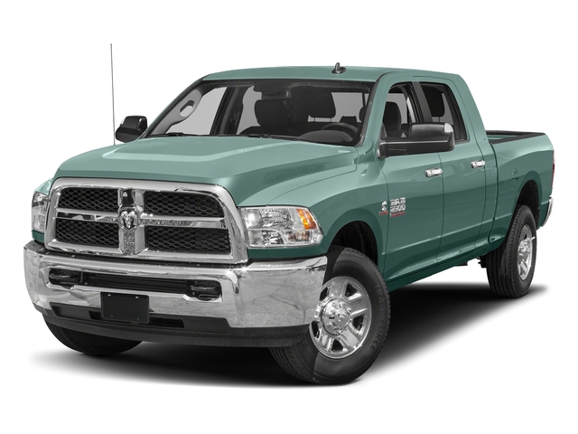 Light Green 2017 Ram Truck 2500 Pictures 2500 SLT 4x2 Mega Cab 6'4 Box photos front view