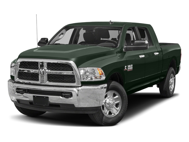 Black Forest Green Pearlcoat 2017 Ram Truck 2500 Pictures 2500 SLT 4x2 Mega Cab 6'4 Box photos front view