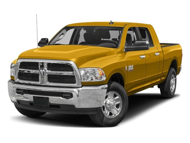 School Bus Yellow 2017 Ram Truck 2500 Pictures 2500 SLT 4x2 Mega Cab 6'4 Box photos front view