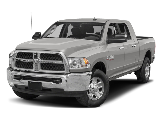 Bright Silver Metallic Clearcoat 2017 Ram Truck 2500 Pictures 2500 Mega Cab SLT 4WD photos front view