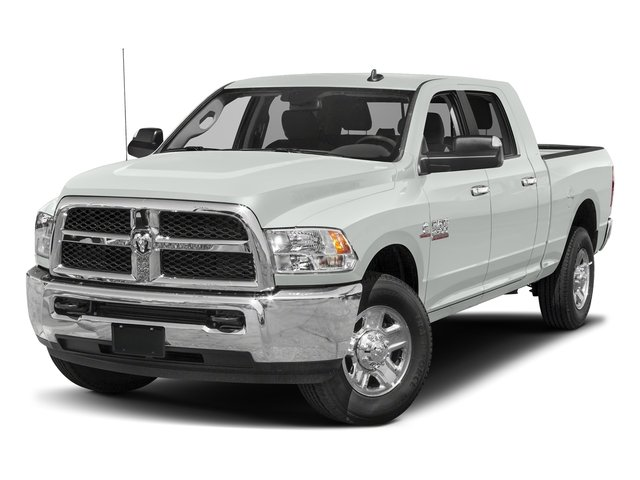 Bright White Clearcoat 2017 Ram Truck 2500 Pictures 2500 Mega Cab SLT 4WD photos front view