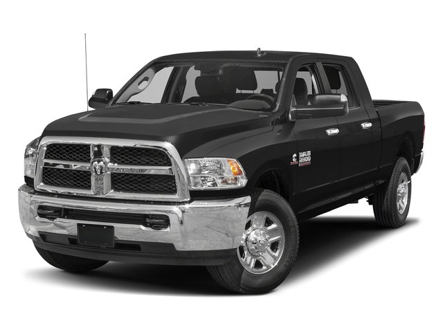 Black Clearcoat 2017 Ram Truck 2500 Pictures 2500 SLT 4x2 Mega Cab 6'4 Box photos front view