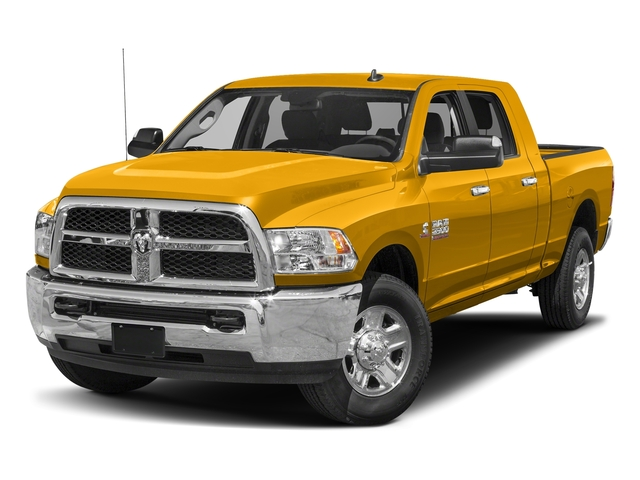 Detonator Yellow Clearcoat 2017 Ram Truck 2500 Pictures 2500 SLT 4x2 Mega Cab 6'4 Box photos front view