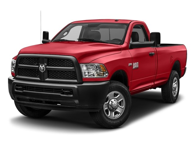 Bright Red 2017 Ram Truck 3500 Pictures 3500 Regular Cab Tradesman 4WD photos front view