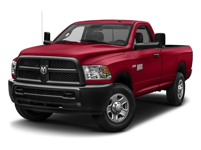 Agriculture Red 2017 Ram Truck 3500 Pictures 3500 SLT 4x4 Reg Cab 8' Box photos front view