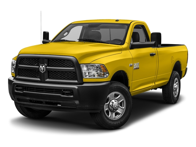 Yellow 2017 Ram Truck 3500 Pictures 3500 SLT 4x4 Reg Cab 8' Box photos front view