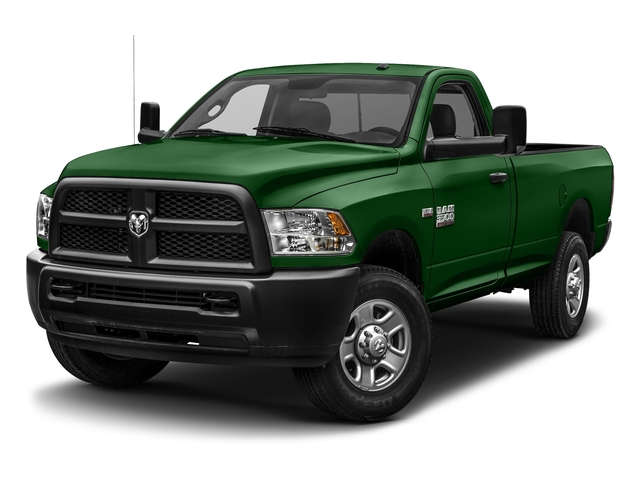 Tree Green 2017 Ram Truck 3500 Pictures 3500 SLT 4x4 Reg Cab 8' Box photos front view