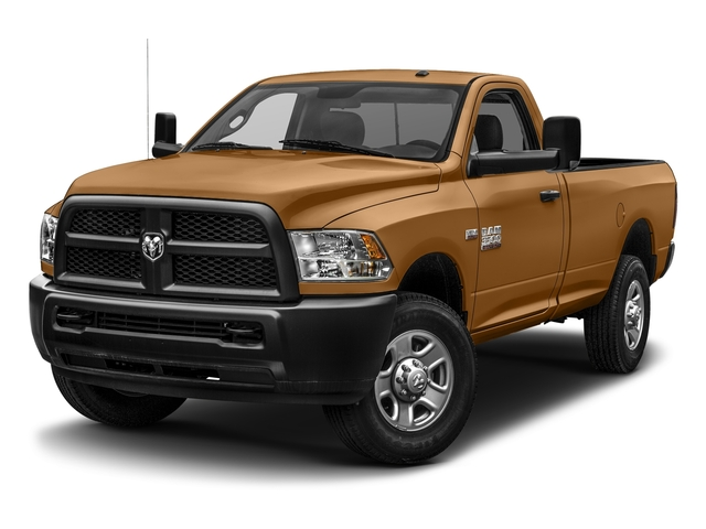 Power Tan 2017 Ram Truck 3500 Pictures 3500 SLT 4x4 Reg Cab 8' Box photos front view