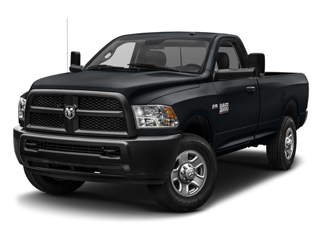 Maximum Steel Metallic Clearcoat 2017 Ram Truck 3500 Pictures 3500 SLT 4x4 Reg Cab 8' Box photos front view