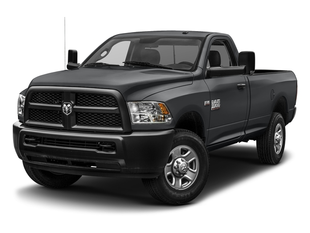 Granite Crystal Metallic Clearcoat 2017 Ram Truck 3500 Pictures 3500 Regular Cab SLT 2WD photos front view