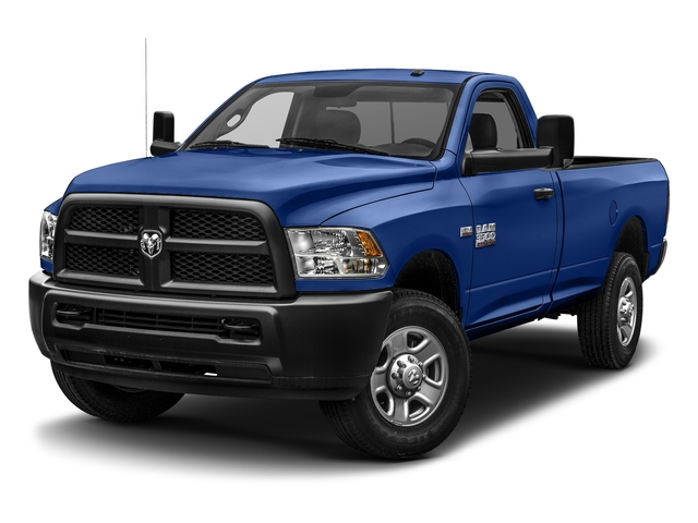 Blue Streak Pearlcoat 2017 Ram Truck 3500 Pictures 3500 SLT 4x4 Reg Cab 8' Box photos front view
