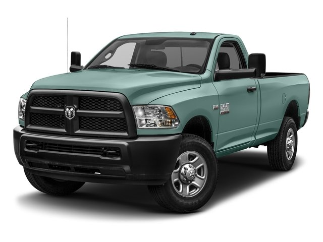 Light Green 2017 Ram Truck 3500 Pictures 3500 SLT 4x4 Reg Cab 8' Box photos front view