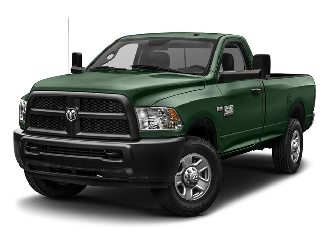 Timberline Green Pearlcoat 2017 Ram Truck 3500 Pictures 3500 SLT 4x4 Reg Cab 8' Box photos front view