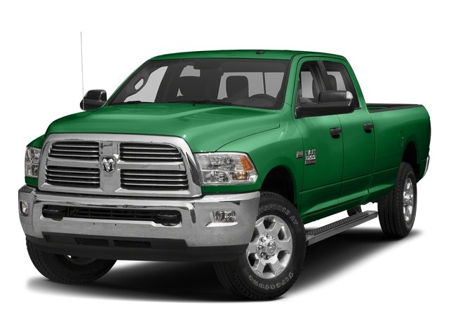 Bright Green 2017 Ram Truck 3500 Pictures 3500 Big Horn 4x2 Crew Cab 6'4 Box photos front view