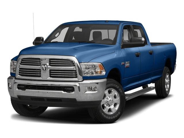 Blue Streak Pearlcoat 2017 Ram Truck 3500 Pictures 3500 Big Horn 4x2 Crew Cab 6'4 Box photos front view