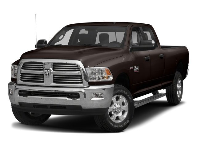 Luxury Brown Pearlcoat 2017 Ram Truck 3500 Pictures 3500 Big Horn 4x2 Crew Cab 6'4 Box photos front view