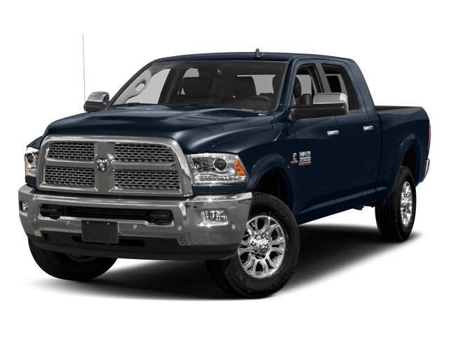 True Blue Pearlcoat 2017 Ram Truck 3500 Pictures 3500 Laramie Longhorn 4x2 Mega Cab 6'4 Box photos front view