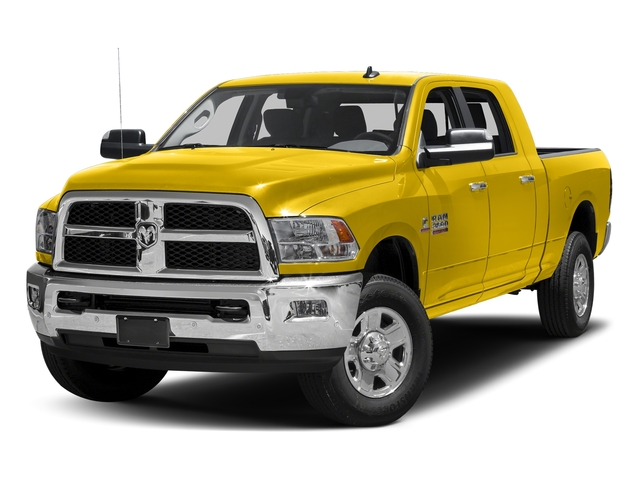 Yellow 2017 Ram Truck 3500 Pictures 3500 Mega Cab SLT 4WD photos front view