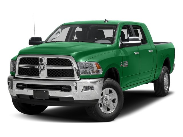 Bright Green 2017 Ram Truck 3500 Pictures 3500 Mega Cab SLT 4WD photos front view