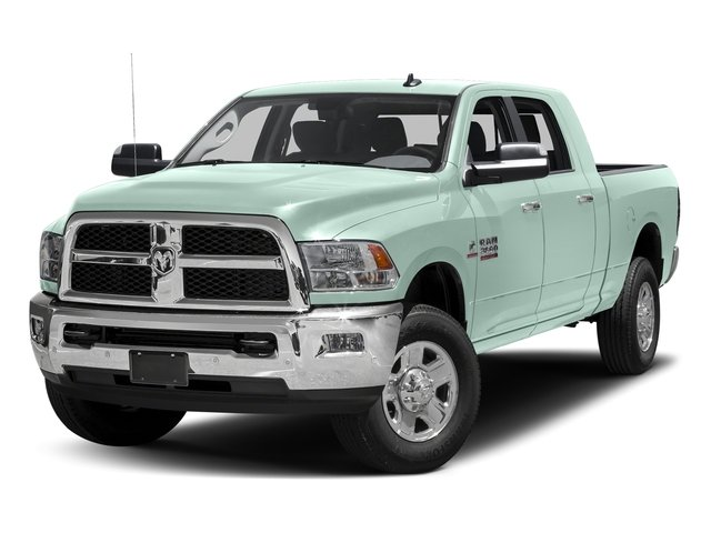 Robin Egg Blue 2017 Ram Truck 3500 Pictures 3500 SLT 4x2 Mega Cab 6'4 Box photos front view